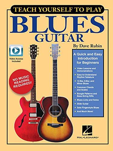 TEACH YOURSELF TO PLAY BLUES G por Dave Rubin