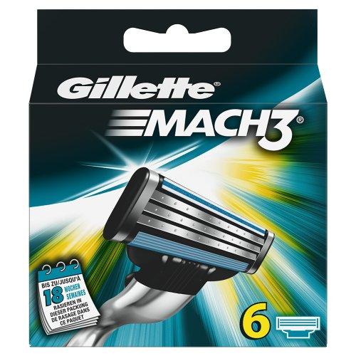 Gillette MACH3 Klingen 6 Stück