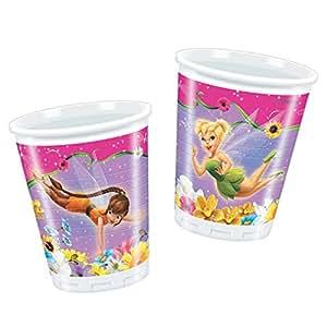 200ml Springtime Disney Fairies tasses en plastique, lot de 10