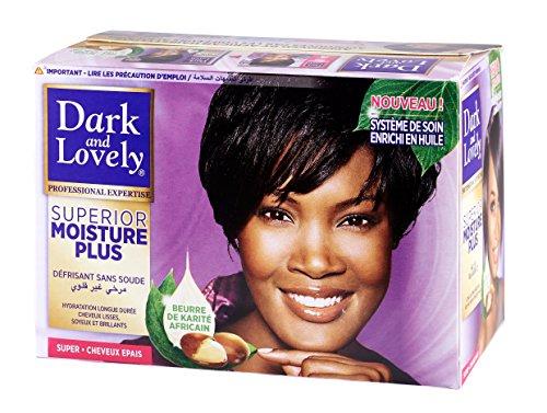 SoftSheen Carson Dark And Lovely Moisture Plus No-Lye Relaxer Super by Dark & Lovely - Relaxer Kit Super