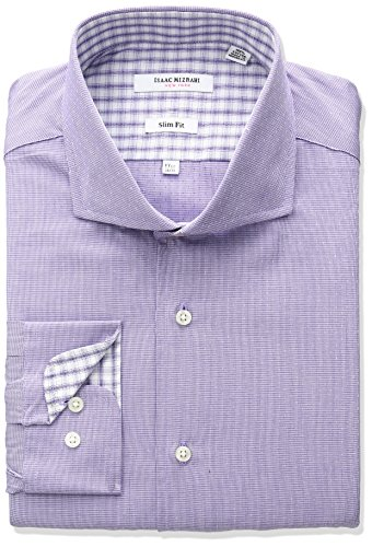isaac-mizrahi-mens-slim-fit-houndstooth-with-a-dobby-dot-cut-away-collar-dress-shirt-purple-165-neck
