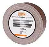 Boma -Ruban adhésif tissu pour réparations, marron, 50mm x 5m - B47008400012
