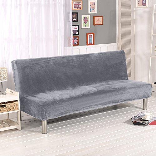 Fastar funda de clic-clac elástica, cubre /protector sofá de 3 plazas,color sólido...
