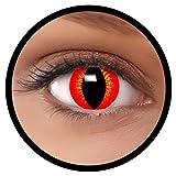 FXEYEZ Farbige Kontaktlinsen gelb rot