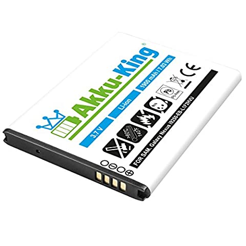 Akku-King Akku für Samsung Galaxy Nexus GT-i9250, SPH-L700 - ersetzt EB-L1F2HVU - Li-Ion 1900mAh ( ohne NFC