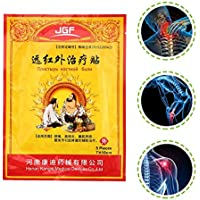 Togames-ES China Herbal Pain Relief Patch Ingredientes Naturales Dolor transdérmico Yeso Herbal Medical Infrarrojo