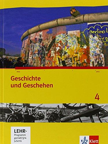 Geschichte und Geschehen 4. Ausgabe Hessen, Saarland Gymnasium: Schülerbuch mit CD-ROM Klasse 9/10 (G8/G9) (Geschichte und Geschehen. Sekundarstufe I)