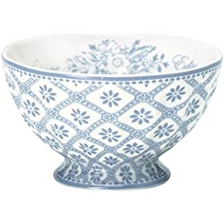 GreenGate French Bowl M blau