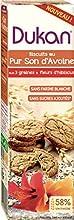 Dukan Biscuit au Son d'Avoine 3 Graines/Fleur d'Hibiscus 95 g