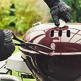 R-Beretta Grillhandschuhe in Geschenk Box - Hitzebeständig Bis Zu 500 °C – Hitzeschutzhandschuhe Für Grill - Feuerfeste Kaminhandschuhe Mit Extra Langem Unterarmschutz - Ofenhandschuhe - 4