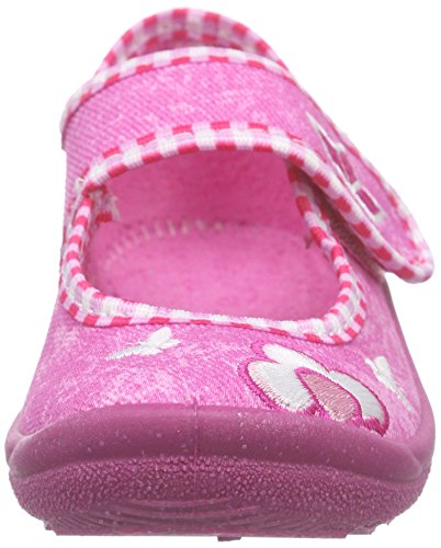 Lico Sweer Girl, Chaussons montants Doublé Chaud fille Rose (Pink/rosa/weiss)