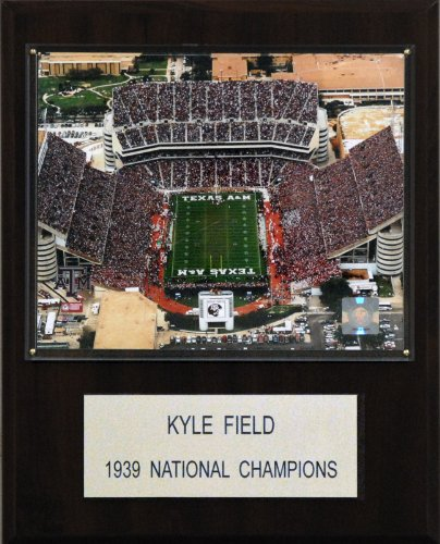 C & I Collectables NCAA Football Kyle Field Stadium Plaque