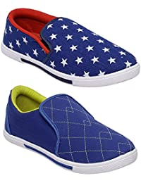 Scantron Casual Canvas Shoes Men's Combo 2 Shoes_Casual Shoes With Stylish Look New Latest Fashionable Trail Casual...