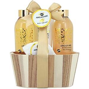 Gloss – caja de baño, caja de regalo para mujeres – Estuche de Baño Regalo – Argan Oil