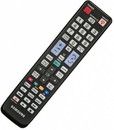 Samsung BN59-01015A - Mando a distancia de repuesto para TV, color negro