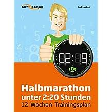 Halbmarathon unter 2:20 Stunden