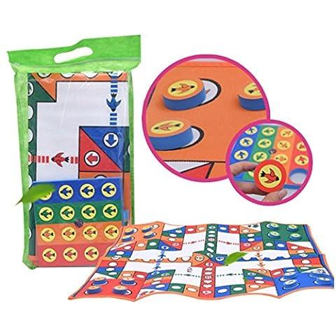 HKFV Baby Kinder spielen Matte Schaum Boden Kind Aktivität Soft Toy Gym Crawl Creeping Flying Schach Spielzeug Decke