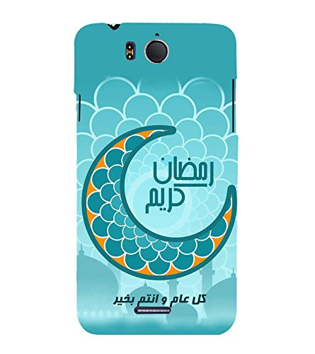 Fiobs Designer Back Case Cover for InFocus Bingo 50 (Eid Moon Chand...