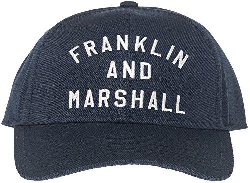 Franklin-amp-Marshall-Embroidered-Logo-Cap-Black