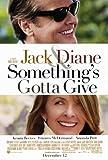 quelque chose de Gotta Donnent Movie Poster (68,6x 101,6cm-69cm x 102cm) (2003)-(jack Nicholson) (Diane Keaton) (Amanda Peed) (Keanu Reeves) (Frances Mcdormand) (Jon Fulton-favreau)