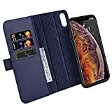 ZOVER Coque iPhone XS Max,Coque iPhone iPhone XS Max, Détachable Housse Portefeuille...