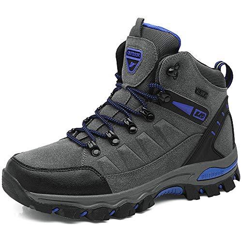 buy popular 32983 f22ed BIGU Zapatillas de Senderismo para Hombre Mujer Outdoor Botas de Montaña  Impermeables Zapatillas de Trekking Al