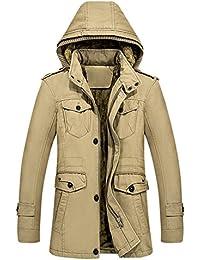 iShine Cappotto Uomo Cappotti Uomo Giacca Uomo Invernale Offerta con 3  Colori 17a6c3da764