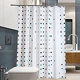 ZHDC® Duschvorhang, wasserdicht Vermeiden Sie Mehltau PEVA Material Duschvorhänge 120x180cm, 300x180cm Umwelt Duschvorhang ( Farbe : 180*220cm )