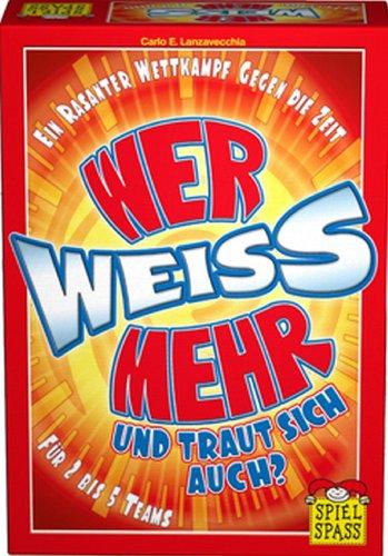 Spielspass Verlag 10127 - Wer weiss mehr