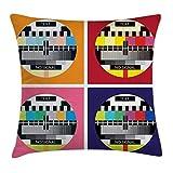 Best Turtle Beach Beach radios - Not afraid Throw Pillow Cushion Cover, Television Radio Review