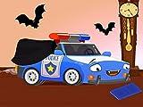 Polizeiauto Flash
