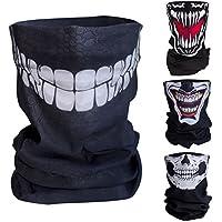 Blacknugget bedrucktes Multifunktionstuch mit ausgefallenem Design - Hochwertige Sturmhaube als Wärm- und Schutztuch - Halstuch, Face Shield, Gesichtsmaske - Grinsekatze