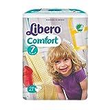 Libero 7Comfort XL Windeln 16-26kg Fall von 8Packungen von 21
