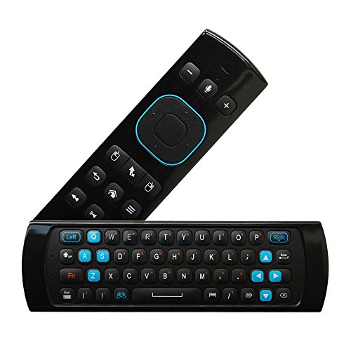 f263f3d7034 New Measy Multifunction Air Mouse Wireless Keyboard Mouse Built-in  Microphone and Headphone Jack for Android TV Box PC Media Player and Support  Remote Game