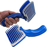 Best Dog Brush For Sheddings - W9 Dog Plastic Slicker Brush with Press Key Review