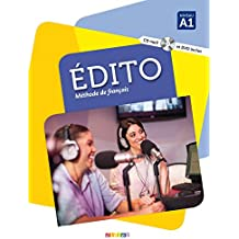 Edito 1 niv.A1 - Livre + DVD-rom