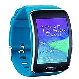 Fit-Power Ersatzarmband für Samsung Galaxy Gear S R750Smart Watch, verstellbare Größe, kabellos, Smartwatch, Zubehör, Band, Gurt, mit sicherem Verschluss, Pack of 4B