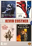 Coffret Kevin Costner 4 DVD : Bodyguard / JFK / Un monde parfait / Robin des Bois,...