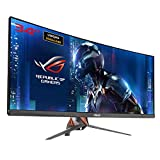 Asus ROG SWIFT PG348Q Monitor Curvo da Gaming, 34' UWQHD (3440x1440), IPS, Fino a 100 Hz, DP, HDMI, USB 3.0, G-SYNC