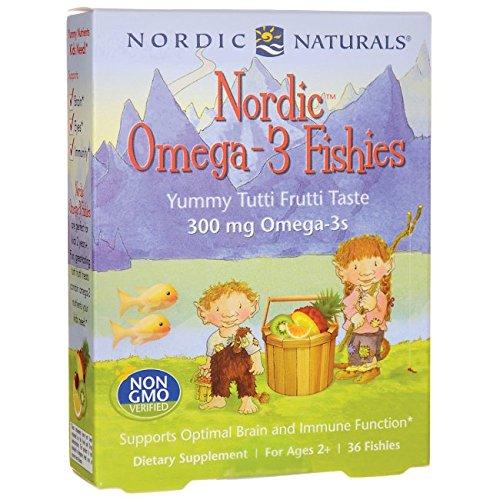 Nordic Naturals - Omega- nórdico3 Fishies - 36Conde