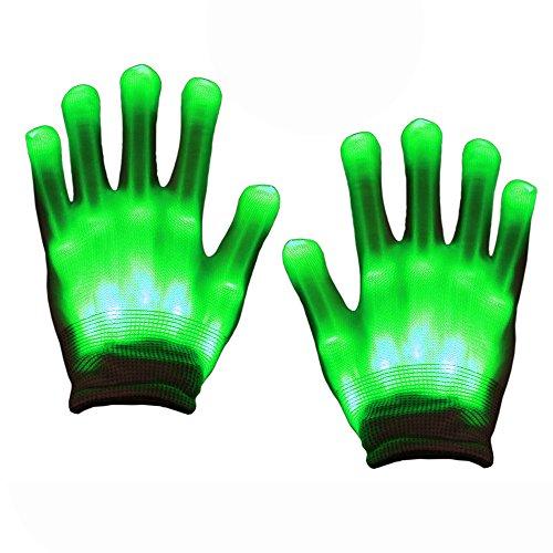 Spielzeug 3-12 Jahre Junge, SoKy LED Handschuh Kinder Blinkende Bunte Finger Gloves Handschuh Spielzeug 3-12 Jahre Junge Party Geschenke Kinder Geburtstagsgeschenk für Mädchen 3-12 ()