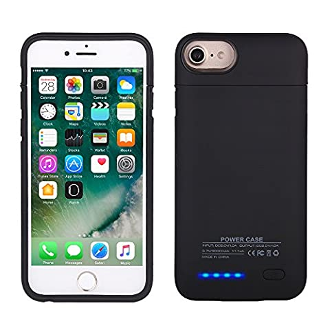 Mbuynow Coque Batterie 3000 mAh rechargeables iPhone boîtier de protection