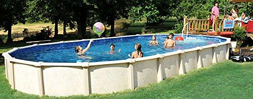 Interline 55000120 oval Pool Sunlake Komplett Set - 10
