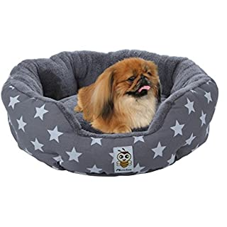 Nunubee Dog Beds And Cushions Kennel Pet Nest Cat Pad Waterproof Blue Gray Small Medium Large
