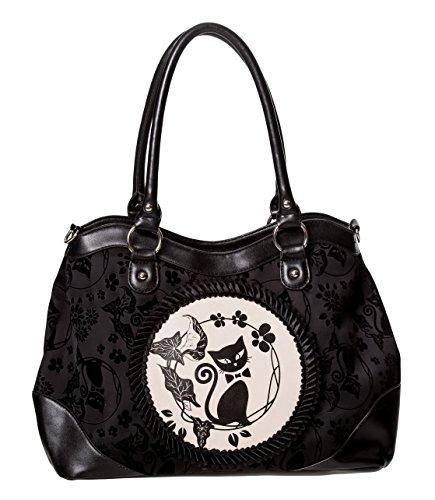 Banned Call Of The Phoenix Alternative Gothic Handtasche - Sc - Black / One Size Schwarz