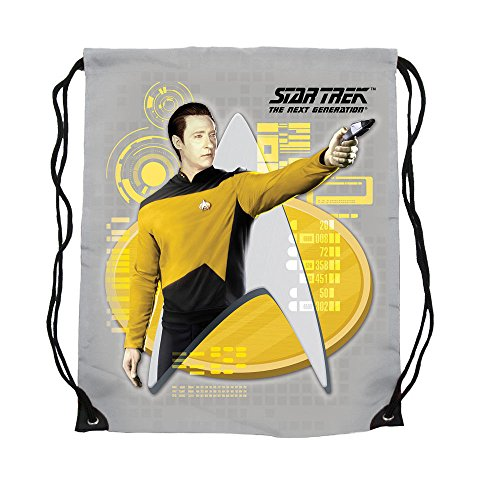Star Trek - Turnbeutel - Stoffbeutel - Commander Data - 44 x 35 cm