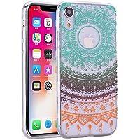 Shinyzone iPhone XS Max 6.5 Zoll Hülle,Kristall Transparent [Silikon TPU] mit Farbe Mandala Muster,[Stoßfest]... preisvergleich bei billige-tabletten.eu