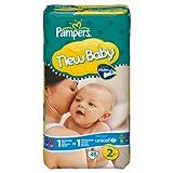 Pampers New Baby Windeln Gr.2 Mini 3-6 kg Sparpaket, 48 Stück