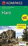 Harz: Wanderkarten-Set mit Radrouten. GPS-genau. 1:50000: 2-delige Wandelkaart 1:50 000 (KOMPASS-Wanderkarten, Band 450)