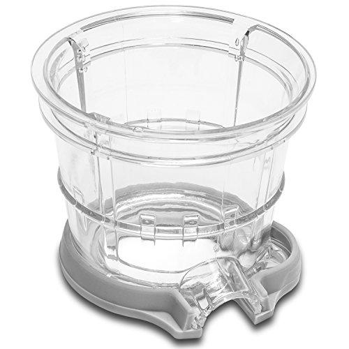 Licuadora para frutas y verduras de prensado en frío, extractor de jugo con canal XL para fruta entera, Cecojuicer Pro de Cecotec. …